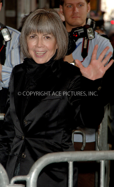 "WWW.ACEPIXS.COM . . . . .  ....NEW YORK, APRIL 25, 2006....Anne Rice at the Broadway opening of ""Lestat"".....Please byline: AJ Sokalner - ACEPIXS.COM.... *** ***..Ace Pictures, Inc:  ..(212) 243-8787 or (646) 769 0430..e-mail: picturedesk@acepixs.com..web: http://www.acepixs.com"