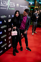Alejandra Rubio and David Moreno attends to El Jovencito Frankenstein premiere at La Luz Philips Teather in Madrid, Spain. November 13, 2018. (ALTERPHOTOS/A. Perez Meca) /NortePhoto.com