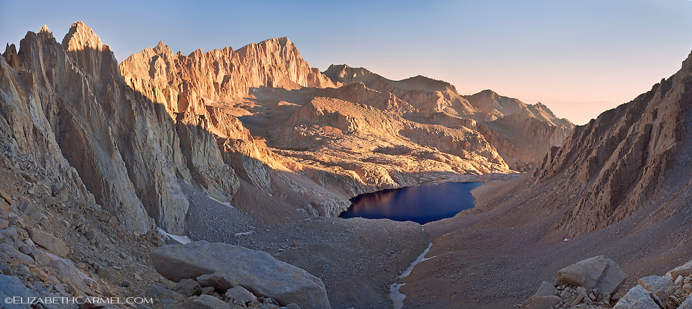 Sunrise on the Whitney Massif