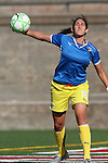 12 July 2009: Boston's Allison Lipsher. Sky Blue FC defeated the Boston Breakers 2-1 at Harvard Stadium in Cambridge, Massachusetts in a regular season Women's Professional Soccer game.