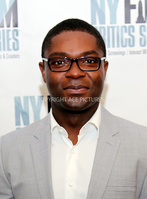 www.acepixs.com<br /> <br /> August 1 2016, New York City<br /> <br /> Actor David Oyelowo at the 'Five Nights In Maine' New York Film Critics Screening at the AMC Empire 25 theater on August 1, 2016 in New York City.<br /> <br /> By Line: Serena Xu/ACE Pictures<br /> <br /> <br /> ACE Pictures Inc<br /> Tel: 6467670430<br /> Email: info@acepixs.com<br /> www.acepixs.com