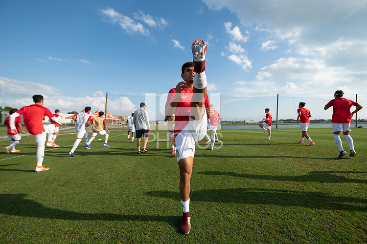 Bradenton, FL - Thursday May 16, 2019:  The U-17 USMNT were defeated by Mexico 2-1 in their championship match of the 2019 CONCACAF World Cup Championship.