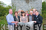 Major plans to revamp Farranfore Village have been drawn up including the development of an amenity and green area near the old railway tower and lines. .Front L-R Richard Sherwood, Bridie Breen, Fiona Walshe, John O'Donoghue, and Dan Ahern. .Back L-R Jerome Crowley, Frances Murphy and Louis Barton.