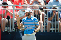 Dustin Johnson (USA) tees off on the first hole during the third round of the 100th PGA Championship at Bellerive Country Club, St. Louis, Missouri, USA. 8/11/2018.<br /> Picture: Golffile.ie | Brian Spurlock<br /> <br /> All photo usage must carry mandatory copyright credit (&copy; Golffile | Brian Spurlock)