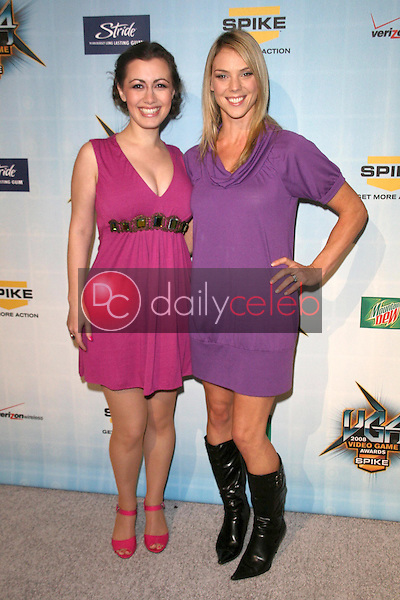 Whitney Avalon and Frances Dumax <br /> at Spike TV's 2008 'Video Game Awards'. Sony Pictures Studios, Culver City, CA. 12-14-08<br /> Dave Edwards/DailyCeleb.com 818-249-4998