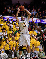 Mark Tollefsen of USF shoots the ball during the game against St. John's at War Memorial Gym in San Francisco, California on December 4th, 2012.   USF Dons defeated St. John's, 81-65.