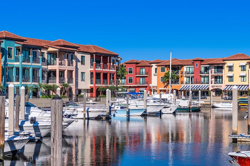 Naples Bay Resort and Marina, Naples, Florida, USA.