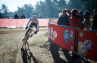 U23 World Champion Michael Vanthourenhout (BEL/Sunweb-Napoleon Games) racing his rainbow jersey for the very first time<br /> <br /> U23 race<br /> Krawatencross <br /> bpost bank trofee 2015