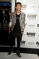 Jaden Smith at the Men In Black 3 premiere at The Ziegfeld Theater in New York City. May 23, 2012. © Kristin Driscoll/MediaPunch Inc.