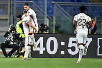 Andrea Belotti of Torino FC celebrates after scoring on penalty the goal of 0-2 <br /> Roma 5-1-2020 Stadio Olimpico <br /> Football Serie A 2019/2020 <br /> AS Roma - Torino FC <br /> Foto Andrea Staccioli / Insidefoto