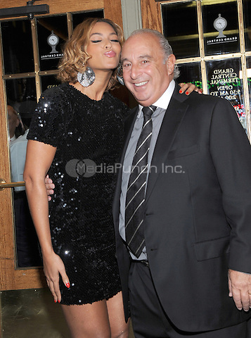 New York, NY-  November 4: Beyonce  and Sir Phillip Green attend the Topshop Topman Dinner in Celebration of the 5th Avenue New York Flagship store on November 4, 2014 at Vanderbilt Hall in Grand Central Terminal in New York City. Credit: John Palmer/MediaPunch