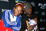 Rappers Tabi Bonney and Wale (L-R) arrive at Flo Live Mobile TV Presents X-Games After Party presented by  Flo Live Mobile TV at The Roxy on August 1, 2008 in West Hollywood, California.