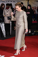 """Kristin Scott Thomas<br /> arriving for the """"Military Wives"""" premiere at the Cineworld Leicester Square, London.<br /> <br /> ©Ash Knotek  D3557 24/02/2020"""