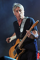 "Paul Weller performs on stage at ""10 giorni suonati"" in Vigevano, Italy, 12.07.2012...Credit: Diena-Brengola/face to face..- Germany, Austria, Switzerland, Luxemburg, France, USA, Canada, UK, Australia, China, Eastern Europe, Denmark, Sweden, Norway and Finland rights only - /MediaPunch Inc. ***FOR USA ONLY*** ***Online Only for USA Weekly Print Magazines*** /*NORTEPHOTO*<br />