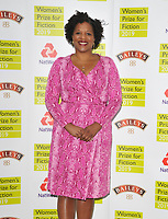 Tayari Jones (winning novelist) at the Women's Prize for Fiction Awards 2019, Bedford Square Gardens, Bedford Square, London, England, UK, on Wednesday 05th June 2019.<br /> CAP/CAN<br /> ©CAN/Capital Pictures
