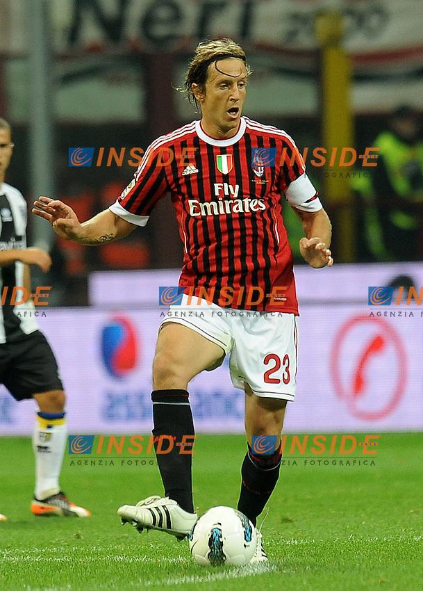 "Massimio AMBROSINI (Milan).Milano 26/10/2011 Stadio ""Giuseppe Meazza"".Serie A 2011/2012.Football Calcio Milan Vs Parma.Foto Insidefoto Alessandro Sabattini."