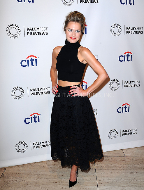 WWW.ACEPIXS.COM<br /> <br /> September 10 2013, LA<br /> <br /> Actress Maggie Lawson at the PaleyFest: ABC Fall TV Preview of 'Back In The Game' at The Paley Center for Media on September 10, 2013 in Beverly Hills, California<br /> <br /> <br /> By Line: Peter West/ACE Pictures<br /> <br /> <br /> ACE Pictures, Inc.<br /> tel: 646 769 0430<br /> Email: info@acepixs.com<br /> www.acepixs.com
