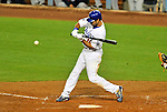 23 July 2011: Los Angeles Dodgers outfielder Andre Ethier in action against the Washington Nationals at Dodger Stadium in Los Angeles, California. The Dodgers rallied to defeat the Nationals 7-6 on a Rafael Furcal walk-off, RBI double in the bottom of the 9th inning. Mandatory Credit: Ed Wolfstein Photo