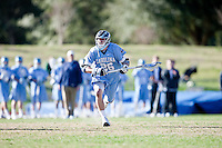 February 6, 2010:    men's lacrosse action between University of North Caroline Tarheels and Jacksonville University Dolphins in the inaugural game for Jacksonville played at D. B. Milne Field on the campus of Jacksonville University.  UNC defeated Jacksonville 11-5.