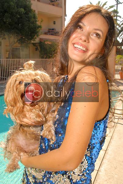 "Natasha Blasick<br /> photo shoot to promote the DVD release of ""Death of Evil"" in which she stars, Private Location, Santa Monica, CA. 10-24-09<br /> David Edwards/Dailyceleb.com 818-249-4998"