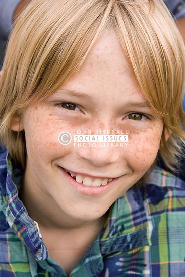 Portrait of  teenage boy,