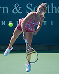 Camila Georgi (ITA) loses at the Western and Southern Financial Group Masters Series in Cincinnati on August 15, 2012