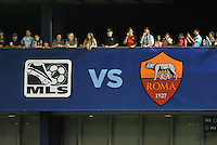 Sporting Park, Kansas City, Kansas, July 31 2013:<br /> MLS All-Stars were defeated 3-1 by AS Roma at Sporting Park, Kansas City, KS in the 2013 AT & T All-Star game.