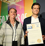 Manhattan Borough President Gale Brewer and State Senator Brad Hoylman during the GLOW: 50 Years of Callen-Lorde at Union Park on May 31, 2019  in New York City.