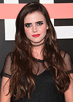 """LOS ANGELES- OCTOBER 11:  Tiffany Alvord at the premiere of """"Demi Lovato: Simply Complicated"""" at The Fonda Theatre on October 11, 2017 in Los Angeles, California. (Photo by Scott Kirkland/PictureGroup)"""