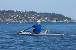 Port Townsend, Rat Island Regatta, rowers,Bill Jaquette, racing, Sound Rowers, Rat Island Rowing Club, Puget Sound, Olympic Peninsula, Washington State, water sports, rowing,  competition,