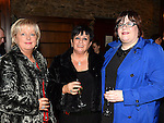 Mary McNevin, Detta and Andrea Keogh pictured at the Ardee Traders Annual Awards dinner at Darver Castle. Photo:Colin Bell/pressphotos.ie