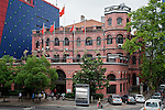 The American Consulate, Previously JK Panoff's Residence.  Built In 1905.  Located On The Corner Of The Bund With Station Road In The Russian Concession.  Hankou (Hankow), Wuhan.