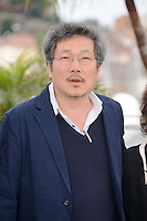 "Hong Sangsoo attending the ""Da-reun Na-ra-e-suh (In Another Country)"" Photocall during the 65th annual International Cannes Film Festival in Cannes, France, 21th May 2012...Credit: Timm/face to face / Mediapunchinc"