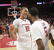Missouri at Arkansas men's basketball 1/13/2018