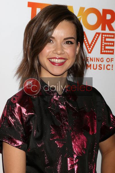 Ingrid Nilsen<br /> at the TrevorLIVE Los Angeles 2016, Beverly Hilton Hotel, Beverly Hills, CA 12-04-16<br /> David Edwards/DailyCeleb.com 818-249-4998