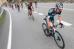 The large breakaway group during Stage 13 of the La Vuelta 2018, running 174.8km from Candas, Carreno to Valle de Sabero, La Camperona, Spain. 7th September 2018.<br /> Picture: Unipublic/Photogomezsport | Cyclefile<br /> <br /> <br /> All photos usage must carry mandatory copyright credit (&copy; Cyclefile | Unipublic/Photogomezsport)