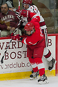 Connor Murphy (Cornell - 12), John Marino (Harvard - 12) - The Harvard University Crimson defeated the visiting Cornell University Big Red on Saturday, November 5, 2016, at the Bright-Landry Hockey Center in Boston, Massachusetts.