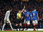 05.12.2018 Rangers v Aberdeen: Alfredo Morelos sent off