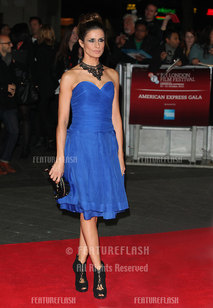 Livia Giuggioli (Livia Firth) arriving the Premiere of 'Crossfire Hurricane' during the 56th BFI London Film Festival at Odeon Leicester Square, London. 18/10/2012 Picture by: Alexandra Glen / Featureflash