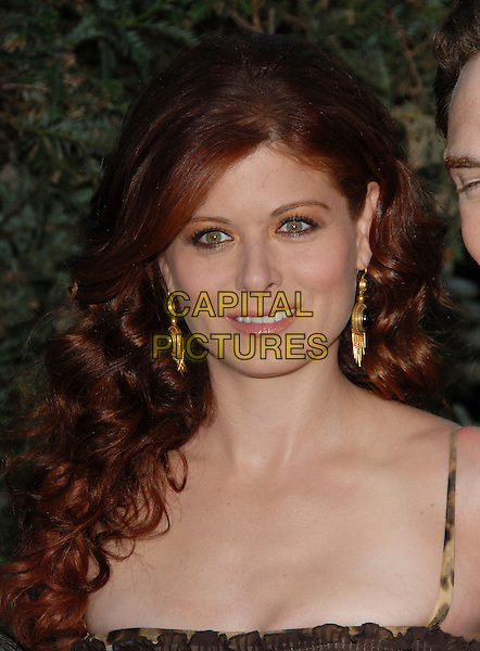 "DEBRA MESSING.Columbia Pictures' L.A. Premiere of ""Open Season"" held at The Greek Theatre in Los Feliz, California, USA..September 25th, 2006.Ref: DVS.headshot portrait gold earrings.www.capitalpictures.com.sales@capitalpictures.com.©Debbie VanStory/Capital Pictures"