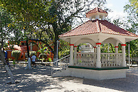 Bandstand in Parque Las Palapas in downtown Cancun, Quintana Roo, Mexico