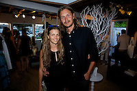 Heather Lilleston, Zak Bush / Cynthia Rowley, Pret a Surf, Sleepy Jones and Grass Root Juices Summer Cocktail Party