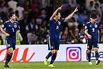 Haraguchi Genki of Japan in action during the AFC Asian Cup UAE 2019 Semi Finals match between I.R. Iran (IRN) and Japan (JPN) at Hazza Bin Zayed Stadium  on 28 January 2019 in Al Alin, United Arab Emirates. Photo by Marcio Rodrigo Machado / Power Sport Images