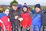 Olivia Roche(Banteer), Brian Divilly(President ICC), Shane Divilly and Donal Reidy (Galway) enjoying the annual coursing meeting held last week in Abbeyfeale.