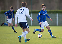 Jose Baxter of Everton during the U23 - Premier League 2 match between Tottenham Hotspur U23 and Everton at Tottenham Training Ground, Hotspur Way, England on 15 January 2018. Photo by Vince  Mignott / PRiME Media Images.