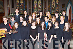 Killarney Youth Choir who performed at the Choir singing afternoon in St Mary's Church Killarney in aid of Kerry Mental health on Saturday front row l-r: Cathal Flaherty, Aileen Scannell, Niamh Sexton, Leontia Doody, Kayleigh Sheerin, Jessica Murphy, Sarah O'Sullivan, Aisling Curran. Middle row: Allanah Kiely, Aoife Murphy, Vanessa Earlie, Emily Scannell, Joanne Moynihan, Martha Gasper, Ella Louise Mangan. Back row: Niall Crowley, Olwan Trant, Olivia O'Connor, Michelle O'Callaghan, Hazel Ramsey, Stephanie Reen and Rona Keely   Copyright Kerry's Eye 2008