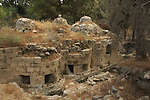 Israel, Shephelah, the Roman Bathhouse in Emmaus
