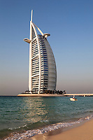 United Arab Emirates, Dubai: The Burj Al Arab.