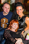 David Biolowas, Vilma Gricinte and Irina Brady in the Black Bull.<br /> Picture: Shane Maguire / www.newsfile.ie