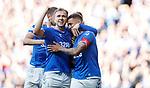 28.09.2018 Rangers v Aberdeen: Greg Stewart and James Tavernier